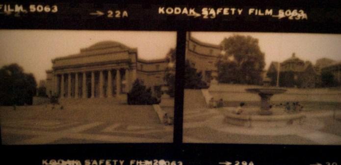"""Borderland"" Columbia University, circa 1987"
