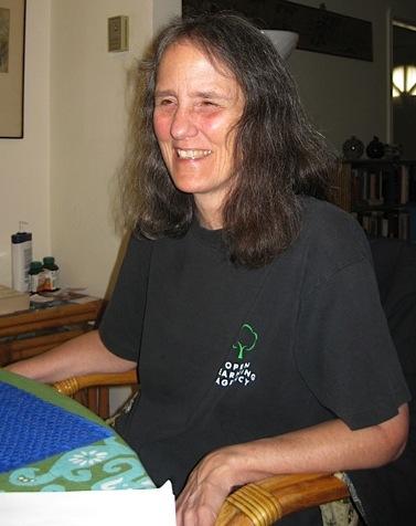 Roo Borson (all photos by Ann Ireland)
