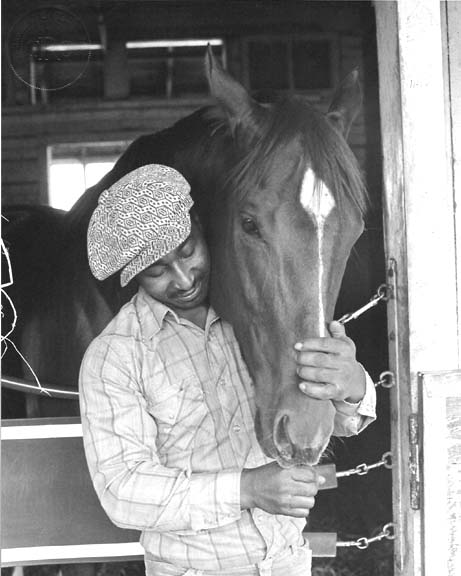 Eddie Sweat and Secretariat