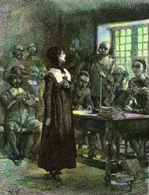 xAnne_Hutchinson_on_Trial Anne Hutchinson on Trial by Edwin Austin Abbey via Wikipedia