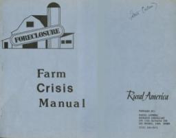 Farm Crisis Manual