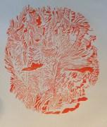 CRAZY HAPPY: Painted Scrolls by Rikki Ducornet & Sculpture by Margie McDonald