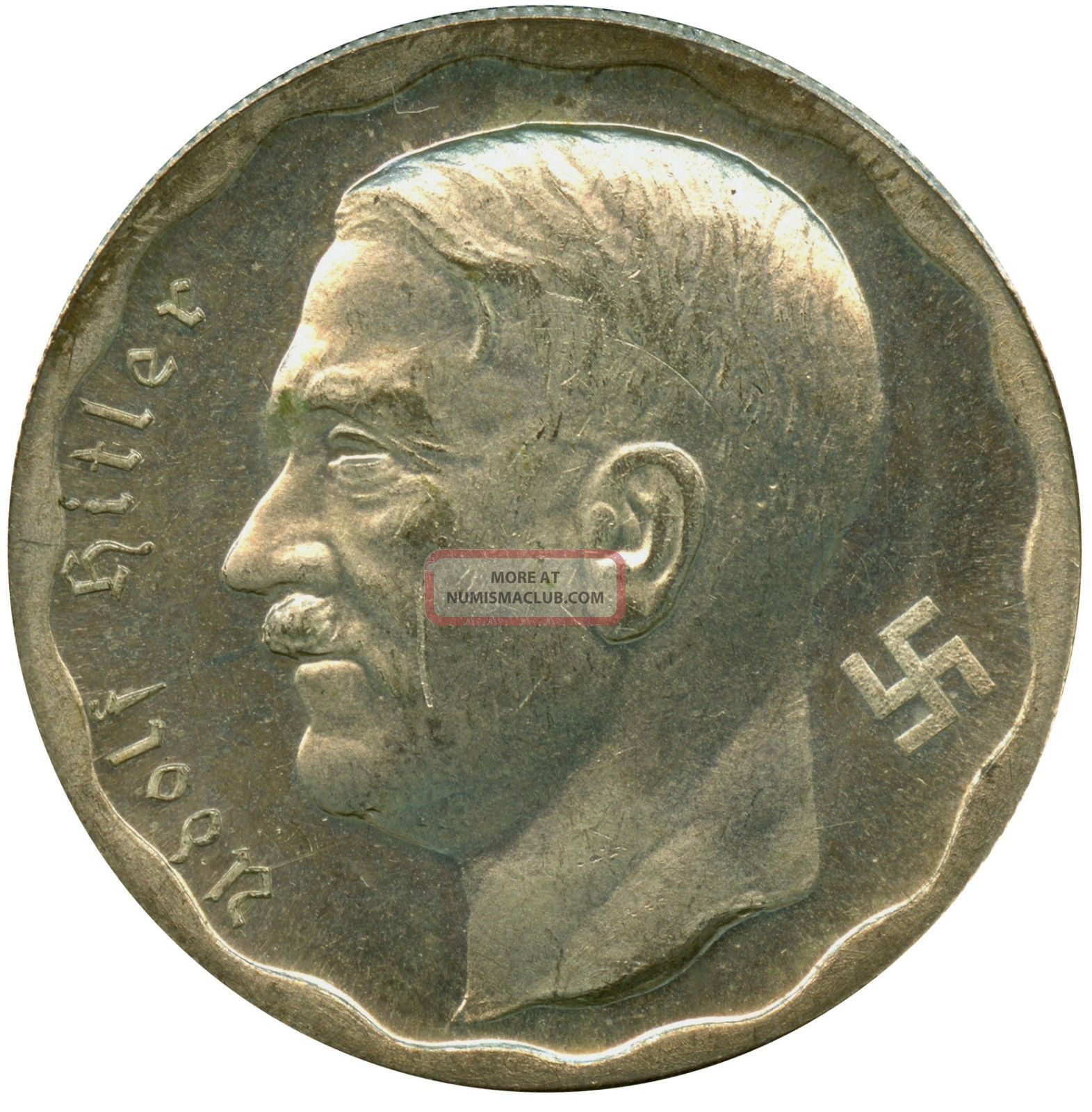 Unique Coin Germany Third Reich 100 Reichs Mark Coin 1933 Adolf