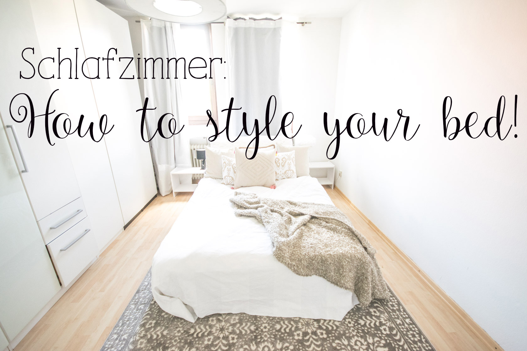 Schlafzimmer How To Style Your Bed Nummer Fünfzehn