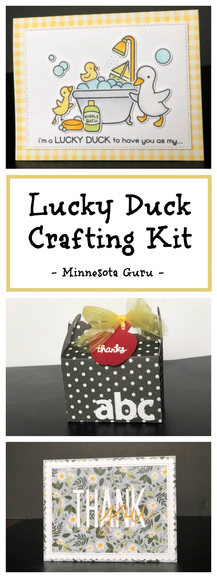Kit Dressing Noir Lucky Duck Paper Crafting Kit For Adults Little Paper Pickle