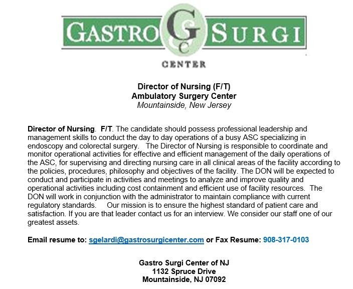RNs \u2013 New Jersey \u2013 Page 2 \u2013 Guide Publications \u2013 Healthcare