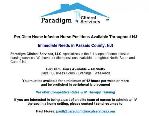 Home Infusion Nurse \u2013 Compassionate Home Health Care