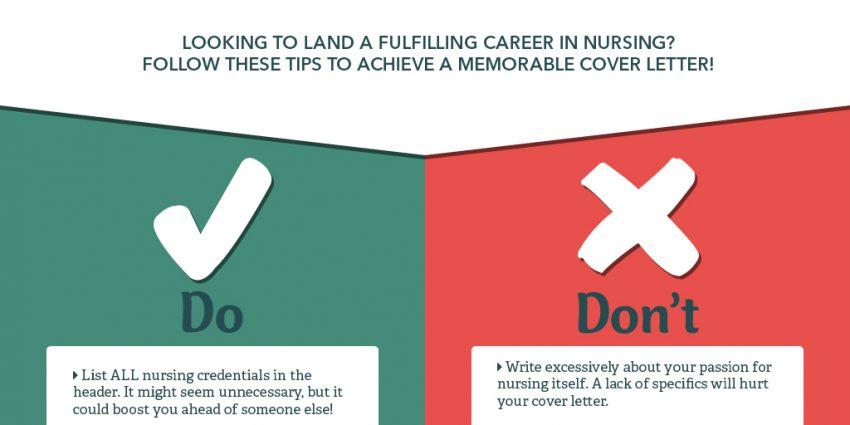 Nurse Cover Letter- Do\u0027s and Don\u0027t\u0027s Nurse Advisor Magazine