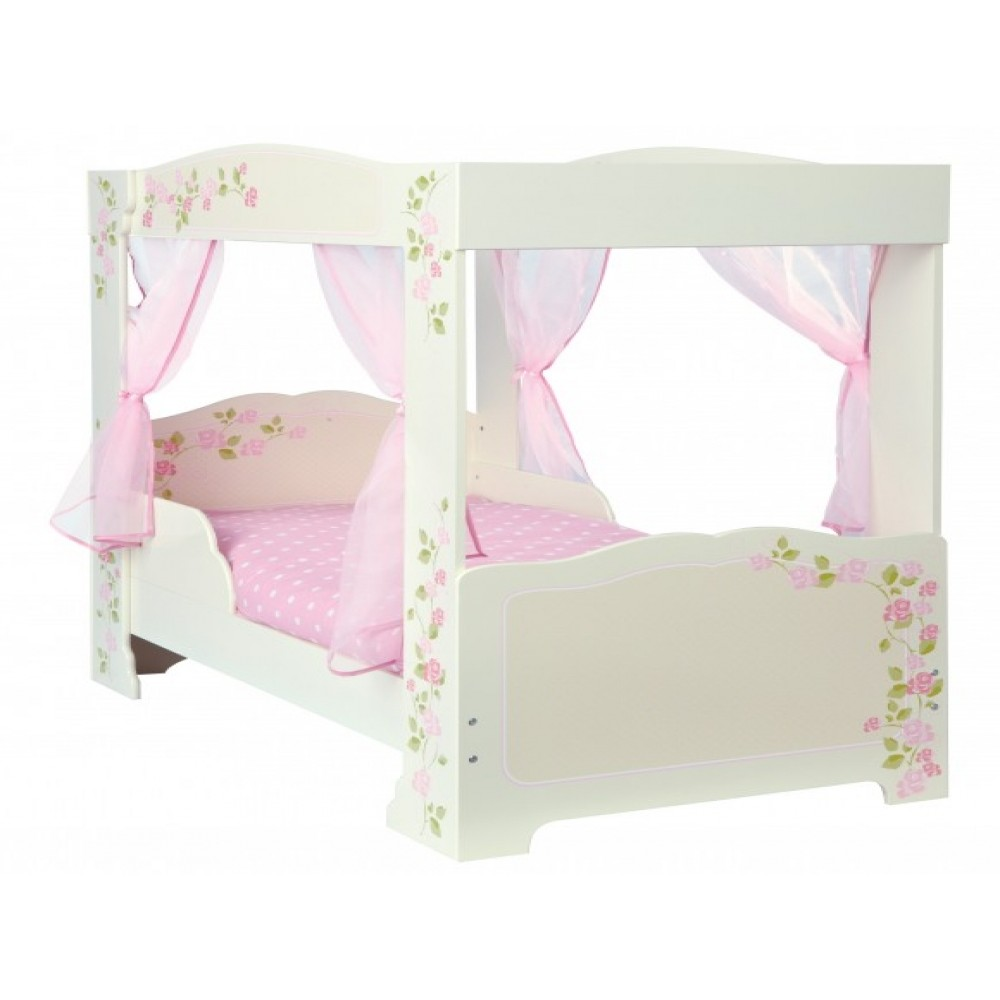 Single Four Poster Bed Princess 4 Poster Single Toddler Bed