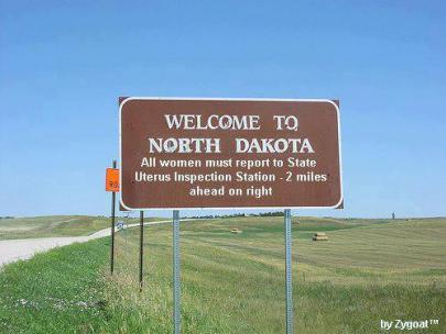 North Dakota: Where Freedom Blooms on the Hills and Prairies (But Not in Your Uterus)