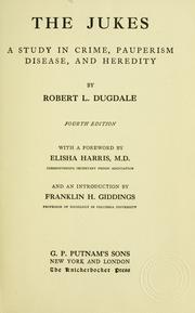 Richard Dugdale, The Jukes (1877).