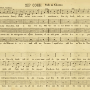 Zip Coon sheet music