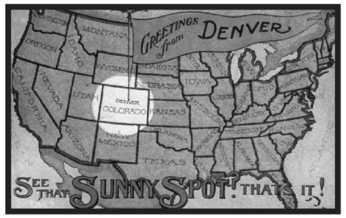 """Sunny Spot"" (Courtesy of the Denver Public Library)"