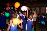 Luftballons bereiten große Freude