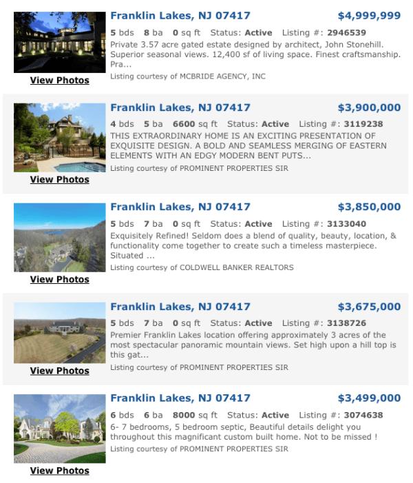 Bergen County Homes