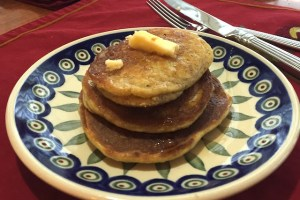 Banana Almond Pancakes Recipe