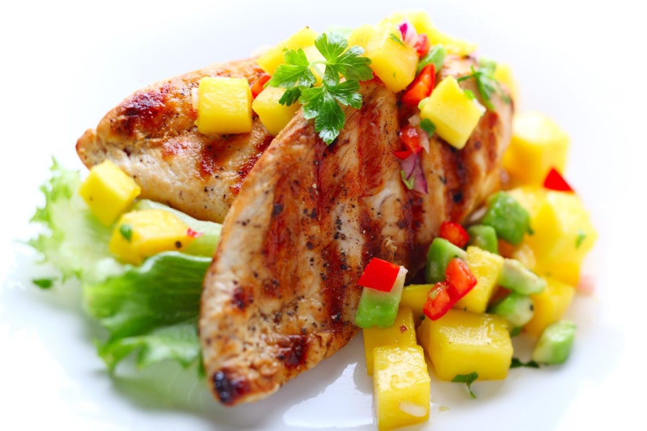 Fullsize Of Mango Chicken Recipe