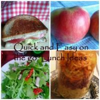 Quick and Easy On the Go Lunch Ideas