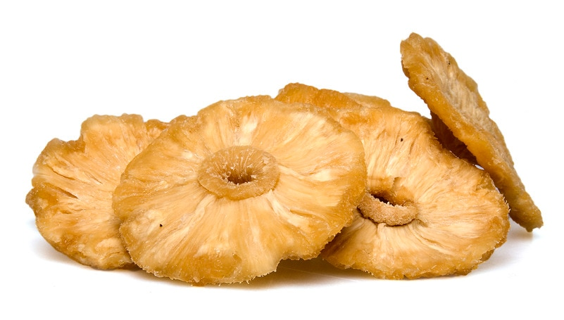 Natural Pineapple - Dried Fruit - By the Pound - Nuts