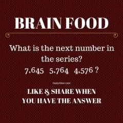 Brain Food Tuesday: May 31, 2016