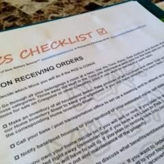 PCS Checklist