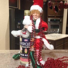 Rocky the Naughty Elf Awakes for 2015