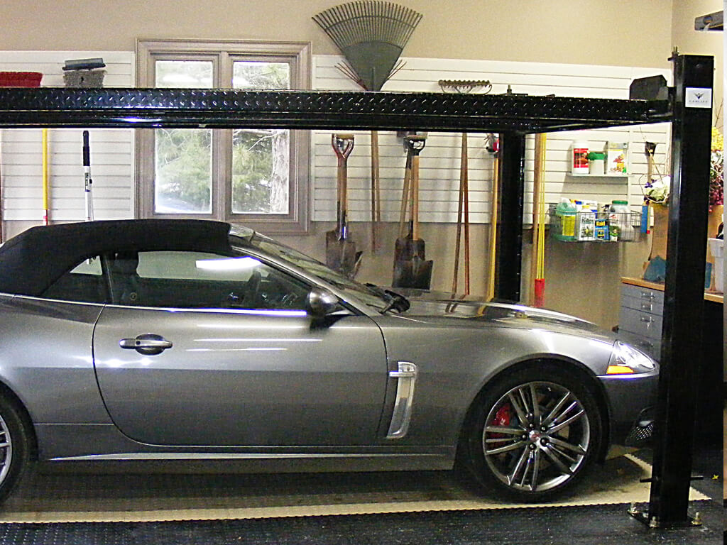 Car Lift To Basement Garage Exotic Car Enthusiasts Auto Lifts Jack Shafts Nuvo Garage