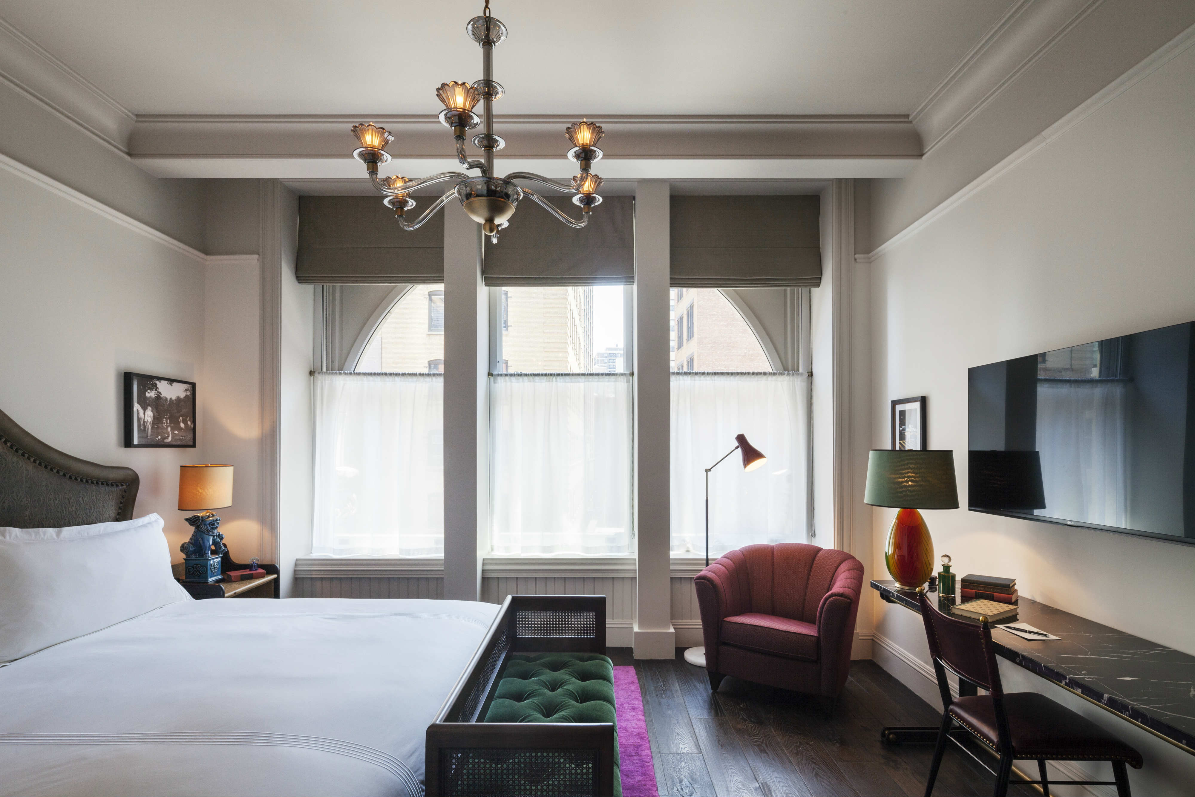 Couches You Sink Into The Beekman Hotel | Nuvo