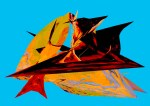 Abstract Bird 3 by Loma Mier Copyright © 2013