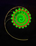 Spiral on Black by Russ Sernau Copyright © 2013