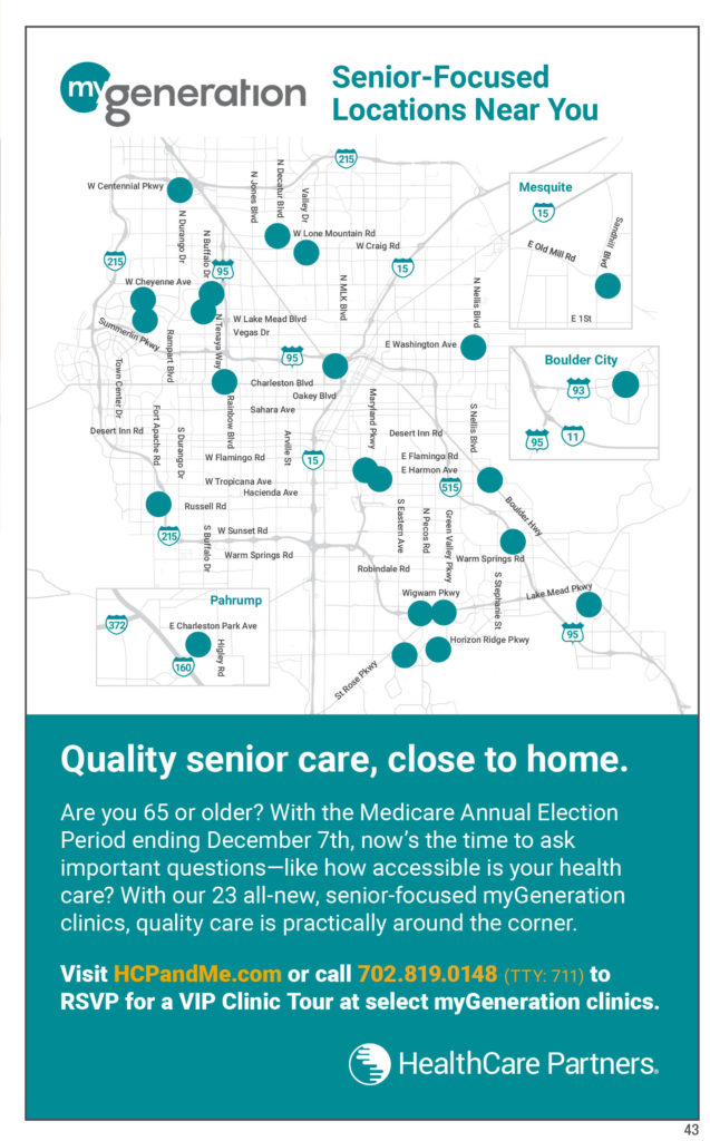 Health and Home Care  Nevada Senior Guide