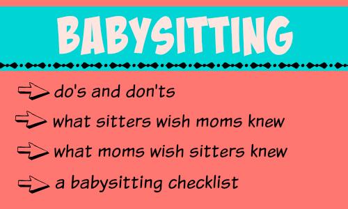 Mamas on Magic 1079 Babysitter Do\u0027s and Don\u0027t\u0027s -
