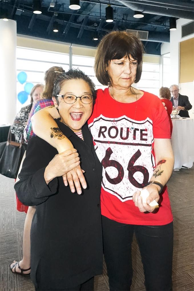 with Jane Nishita