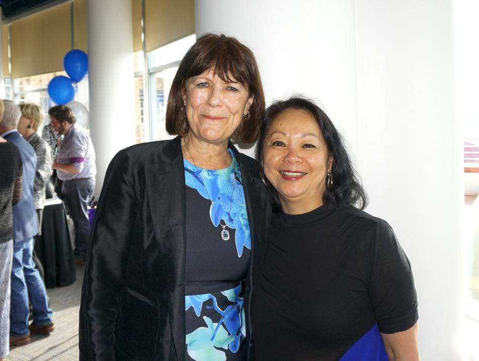 with Teresita Batayola