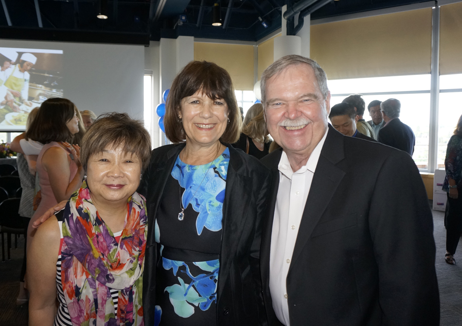 with Theresa and Larry Hosley
