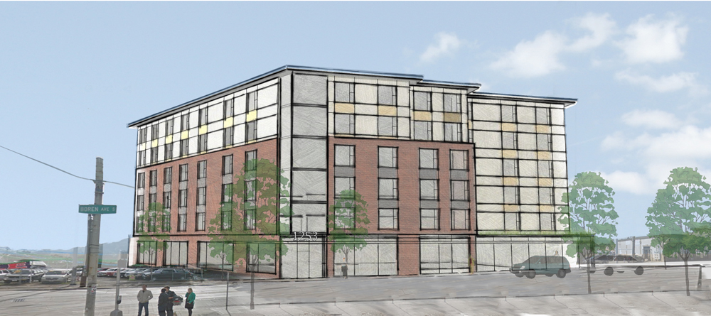 New energy efficient affordable housing proposed for 1253 S. Jackson St. by Low Income Housing Institute (LIHI). (Runberg Architecture Group)