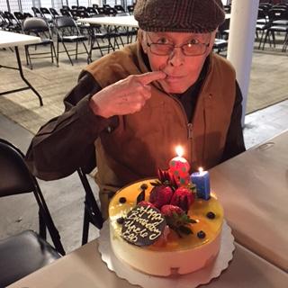 Bob Santos' 81st birthday (Photo provided by Elaine Ko)