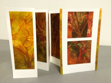 """Autumn Colors"" Concertina Card"