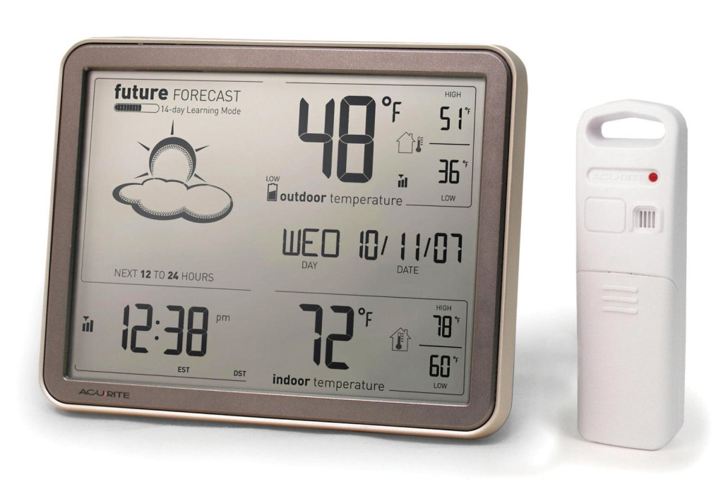 Thermometre Exterieur Sans Fil Best Indoor Outdoor Wireless Thermometer | Nwc