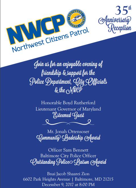 NWCP Dinner Invite