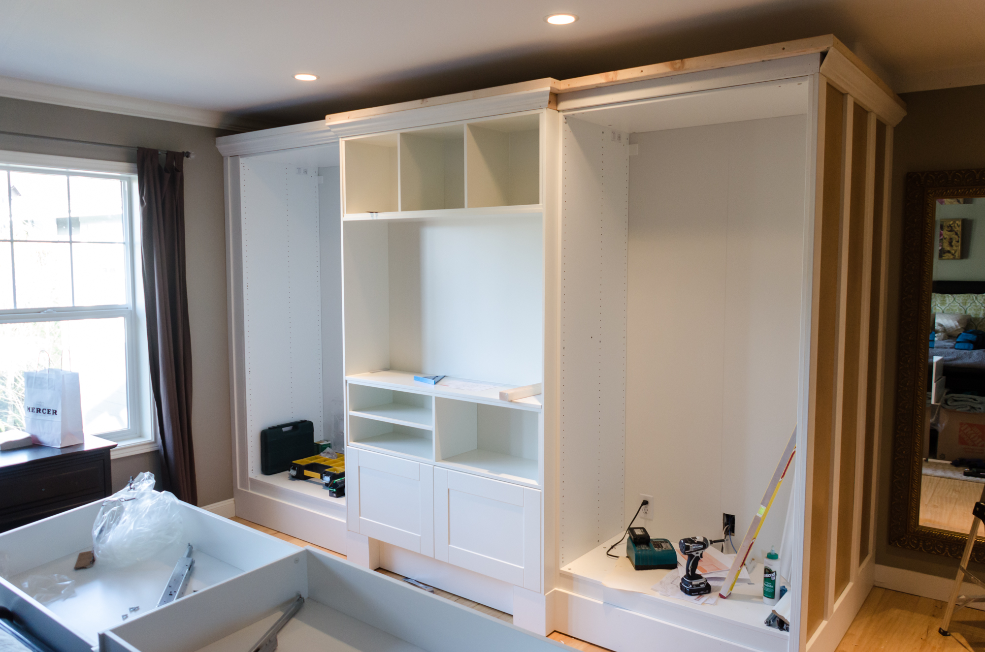 Working With Ikea S Pax Wardrobe Units Nw Homeworks