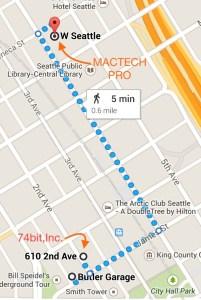 MacTech Pro Map