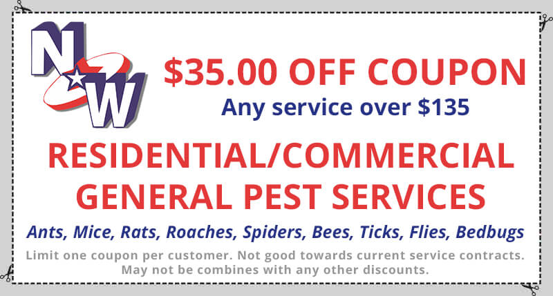 Coupons NW Pest Control - residential service contracts
