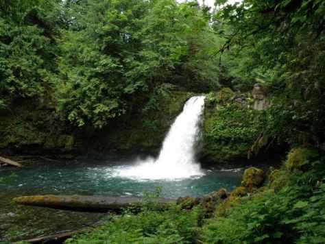 Kalama River Falls. (RMEF)