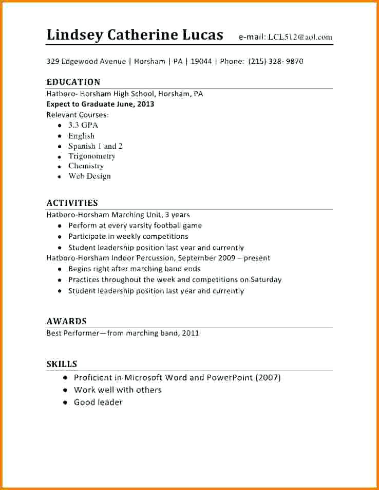 completed job resumes to print as examples