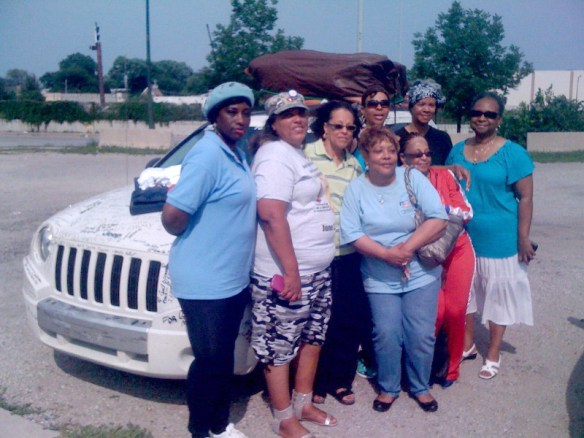Lisa Groves an Army veteran from West Virginia is traveling across 49 states to bring awareness to homeless veterans. Her stop in Chicago over the 4th of July resulted in her meeting with her sister women veterans from the National Women Veterans United and joining the organization.