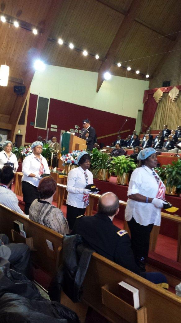 NWVU POW MIA Ceremony