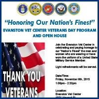 Evanston Veterans Center Events Veterans Day 2015