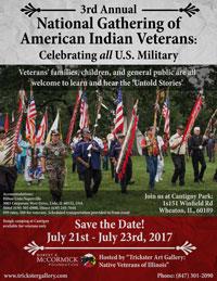 National Gathering of American Indian Veterans 2017
