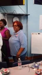NWVU President Rochelle Crump